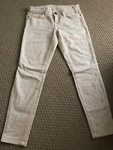 Aritzia Current Elliot Stiletto Denim Jeans