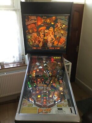 DR DUDE PINBALL MACHINE, BALLY WILLIAMS,  FANTASTIC MACHINE, FULLY WORKING