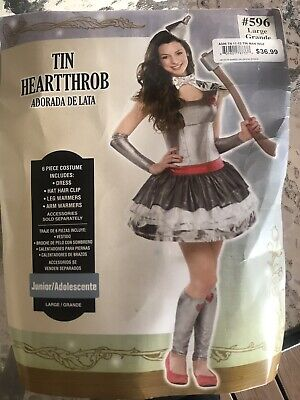 Tin Man Heartthrob Halloween Costume