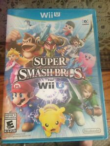 Super SmashBros for Wii u