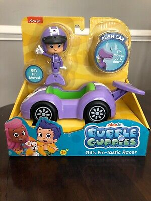 Nick Jr. Bubble Guppies Gil's Fin-tastic Racer Push Car Toy New](Bubble Guppies Game)