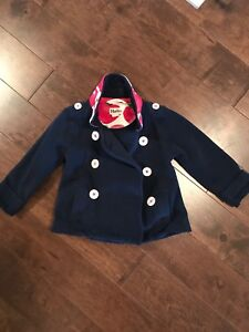 Girls 3 Hatley Pea Coat