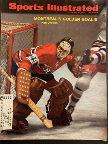 A Sports Illustrated Magazine February 14 1972 Ken Dryden Montreal NHL Goalie - $5.99