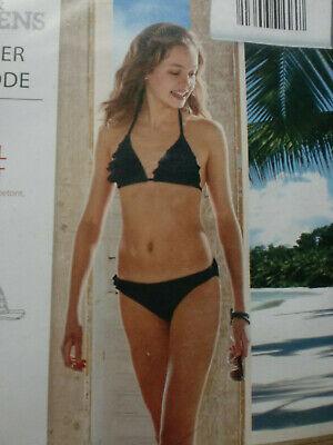 Trendiger Teenager Bikini in Gr.. XXS 134/140 - Marine - NEU&OVP