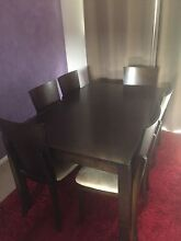 Dining table & 6 chairs St Marys Penrith Area Preview