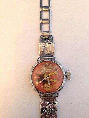 Three Pigs Wrist Watch 1930's - Rare