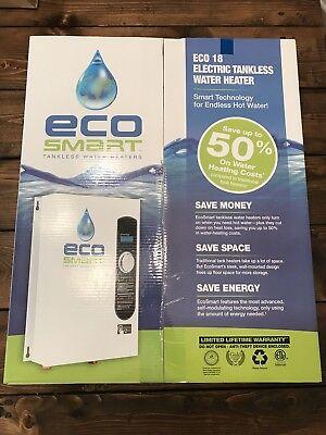 Ecosmart Eco 18 Tankless Water Heater.