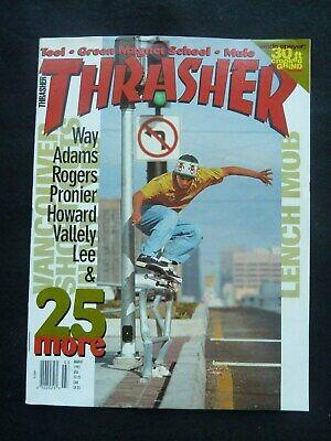 Thrasher Skateboard Magazine March / 1993 Rick Ibaseta / Quy Nguyen