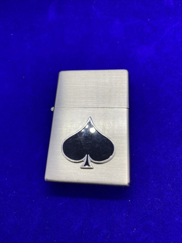 Limited Edition 2006 Suits Lighter Spade Spades Casino NOS