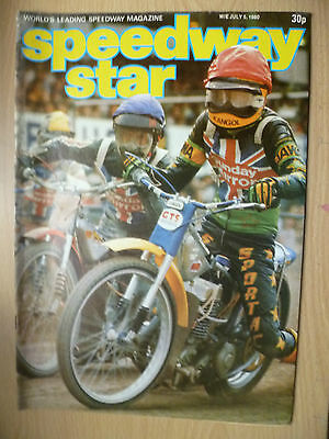 VINTAGE SPEEDWAY STAR MAGAZINE, Vol. 29, No. 15, 05 JULY 1980
