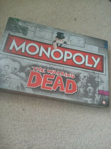 Hasbro Monopoly The Walking Dead Edition Board Game