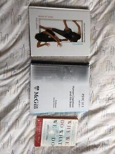 Textbooks (McGill)- Psychology