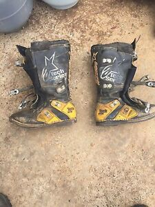 Alpinestar boots tech 8 size 11-45.5 made in Italy Gembrook Cardinia Area Preview