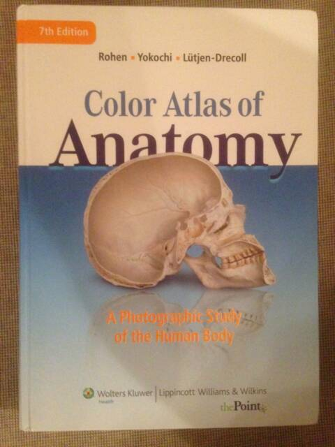 Color Atlas of Anatomy (textbook) | Textbooks | Gumtree Australia ...