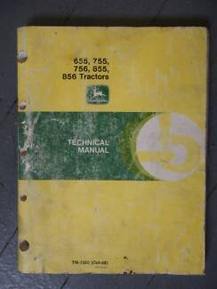 JOHN DEERE MODEL 655, 755, 756 855 856 TRACTOR WORKSHOP MANUAL Rhodes Canada Bay Area Preview
