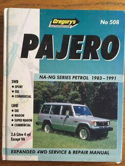 Pajero NA-NG Petrol Gregory's workshop manual  Grange Charles Sturt Area Preview