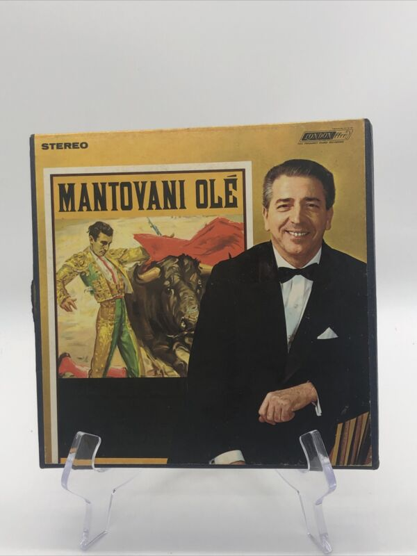 MANTOVANI AND HIS ORCHESTRA Manhattan Stereo REEL to REEL Tape 7 1/2