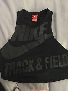 Nike singlet crop xsmall