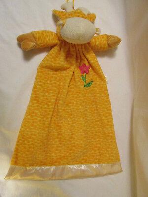 "DanDee Collectors Choice Giraffe Diaper Stacker Nursery Pajama Bag Velour 23.5"""