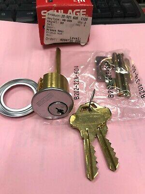 New Schlage Rim Cylinder 20-021 626 C123