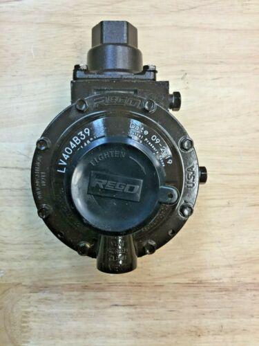 Rego LV404B39 Twin Stage Regulator for LP Gas, FPOL Inlet, 1/2 NPT Outlet
