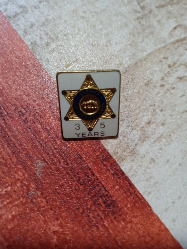 Los Angeles County Sheriff 35-year Pin