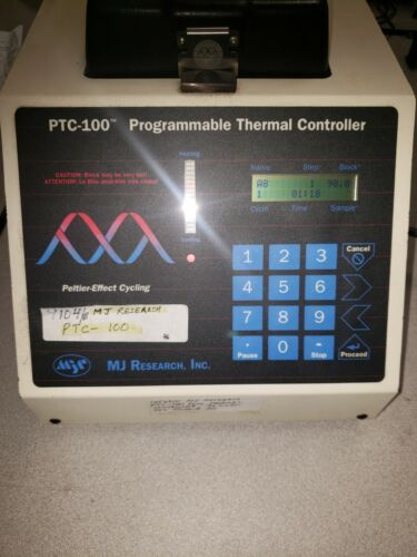 MJ RESEARCH PTC-100 WORKS WELL TESTED TO PERFORM WELL