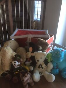 REDUCED!! Soft Ikea toy trunk