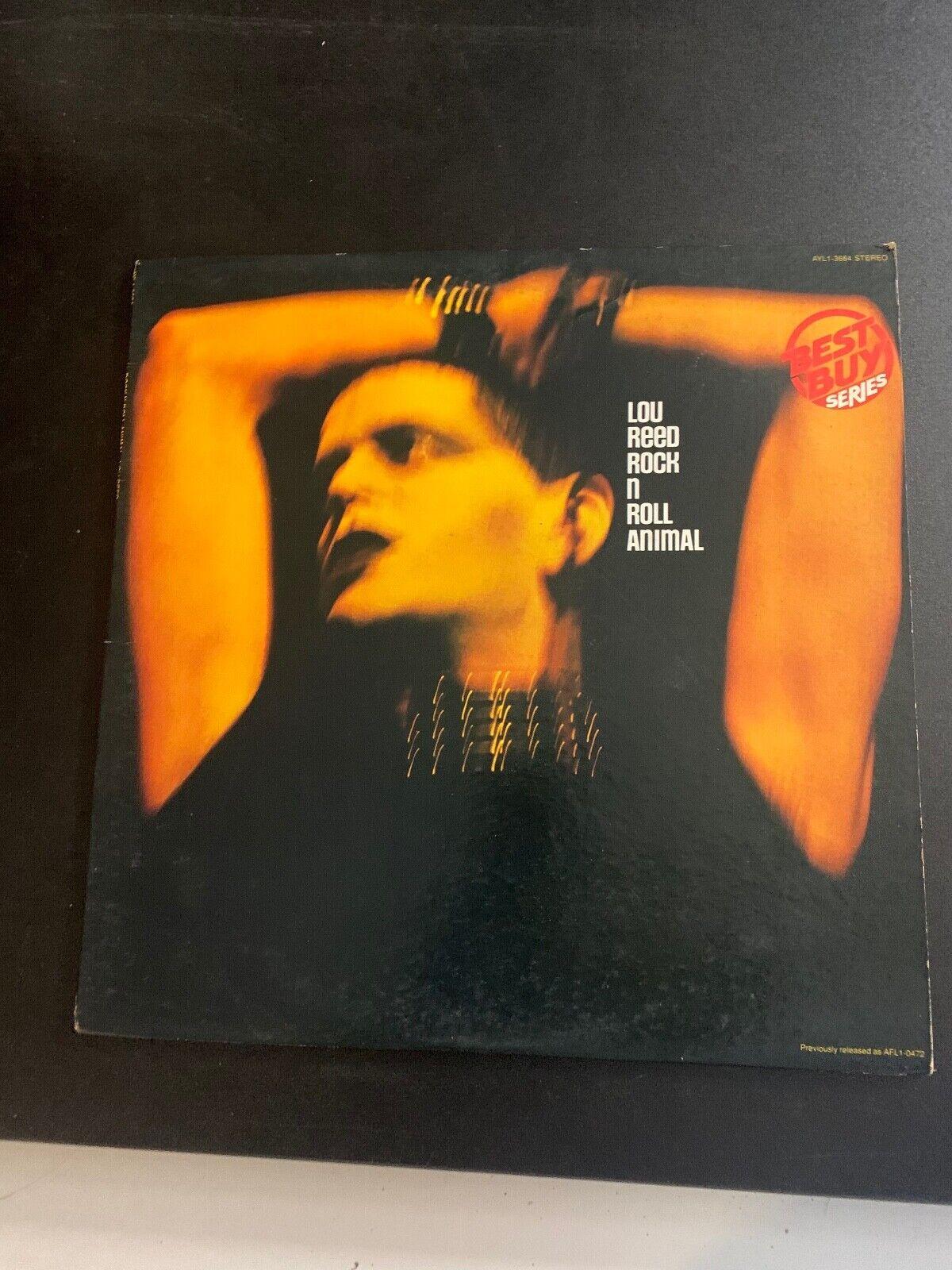 LP RECORD - LOU REED - ROCK N ROLL ANIMAL - ECA RECORDS - $12.99