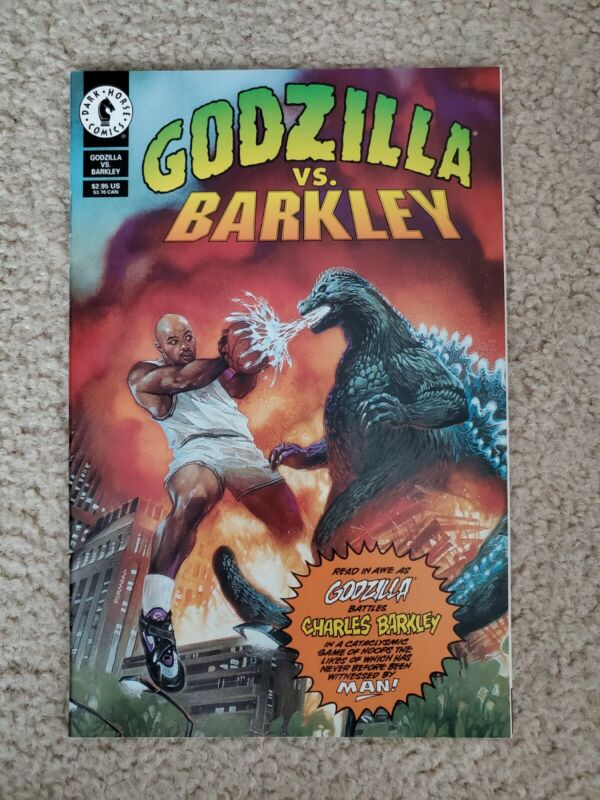Barkley vs Godzilla Comic Book, Dark Horse Comics
