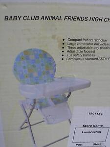 Baby high chair x2 George Town George Town Area Preview