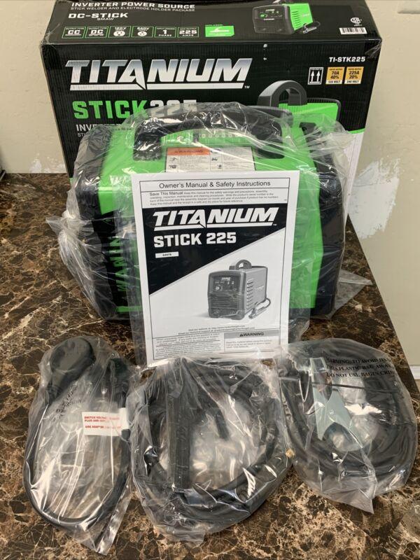 Titanium Inverter Power source DC Stick TI-STK225