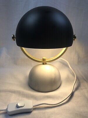 Lucci Decor Stone- Brass Swivel Desk/ Bedsid Lamp