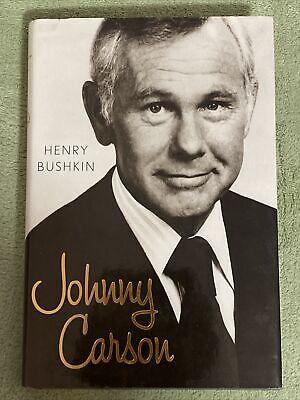 JOHNNY CARSON by Henry Bushkin **NEW** Hardcover