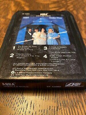 ABBA Voulez-Vous- 8 Track Tape TP 16000