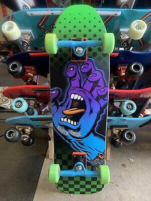 Santa Cruz Aura Hand Preissue Custom Complete Skateboard