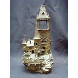 Antique Signed Bergman Vienna Bronze Castle Lamp