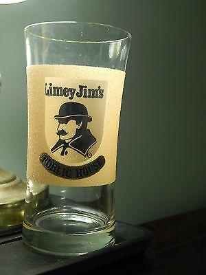 Limey Jim's (Vtg) Florida Restaurant *Jim Smythe* Public House (Drinking Glass)