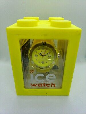 ICE-WATCH  Dial Silicone Strap Unisex Watch [Flashy Yellow] [SS.NYW.B.S.12]