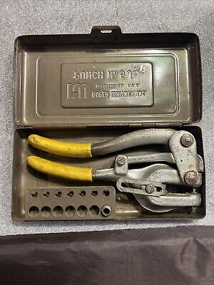 Roper Whitney No. 5 Portable Hand Punch Set