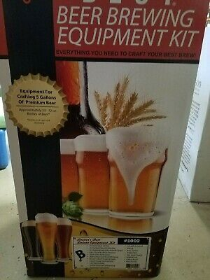 Brewers Best  Home Brewing Equipment Kit, With Glass Carboy