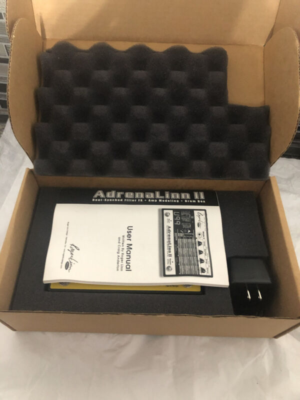 ROGER LINN ADRENALINN 2 GUITAR EFFECTS PEDAL NOS
