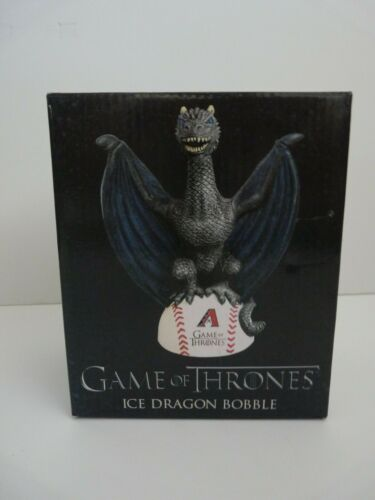 "2018 ARIZONA DIAMONDBACKS ""ICE DRAGON"" GOT GAME OF THRONES SGA BOBBLEHEAD ~ NIB"