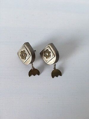 INDIAN SILVER EARRINGS  for sale  Shipping to South Africa