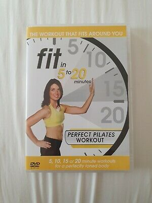 Fit In 5-20 Minutes - Perfect Pilates Workout (DVD, 2011)