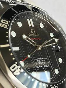 Omega Seamaster Diver 300 M Co-Axial 41 mm BLACK Surry Hills Inner Sydney Preview