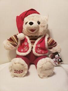 2010 NWT WalMART Christmas Snowflake Teddy Bear Beige Boy  20