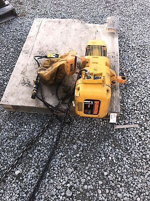 Harrington 1 Ton 208-230460v 3 Ph 15 Lift Electric Chain Hoist