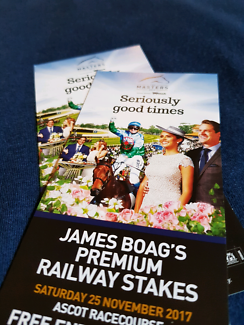 Ascot Racecourse Railway Stakes Day tickets
