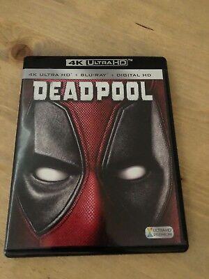Deadpool (4k ULTRA HD Blu-Ray, 2-Disc Set)